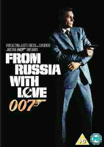 Russia Love DVD Sean Connery