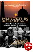 Murder in Samarkand book cover