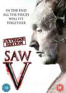Saw V DVD Tobin Bell