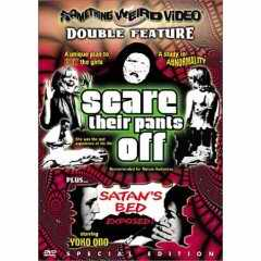 Scare their Pants Off DVD cover
