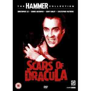 Scars Dracula DVD Christopher Lee