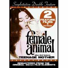 Sexploitation Double Feature Female Teenage