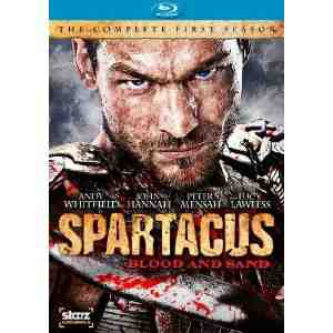 Spartacus Blood Sand Season Blu ray