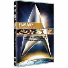 Star Trek Wrath Khan DVD