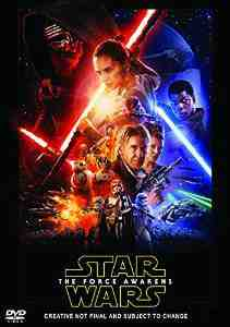 Star Wars Force Awakens DVD