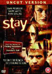Stay DVD Ewan McGregor