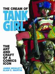 The Cream of Tank Girl book