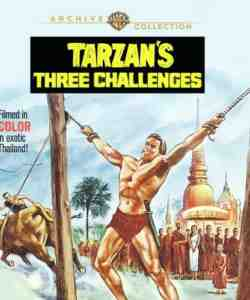 Tarzan's Three Challenges 1963 Blu-ray