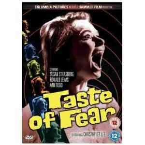 Taste Fear DVD Christopher Lee