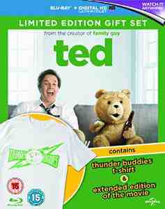 Ted Limited Gift T shirt Blu ray