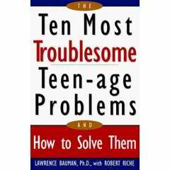 Teenage problems book cover