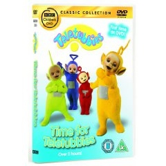 Teletubbies Time DVD