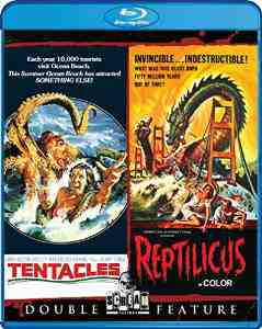 Tentacles Reptilicus Blu ray John Huston