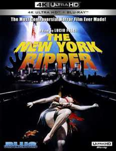 The The New York Ripper 4K Blu-ray