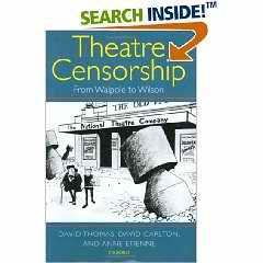 Theatre Censorship book