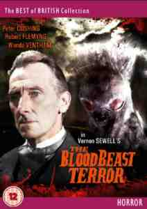 The Blood Beast Terror DVD