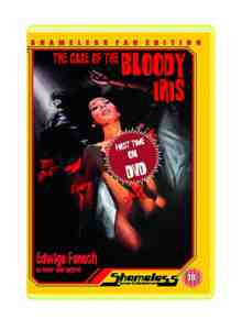 The Case Of The Bloody Iris DVD