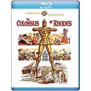 The Colossus of Rhodes 1961 Blu-ray