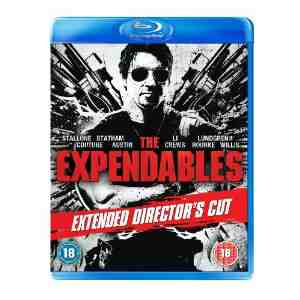 The Expendables Extended Directors Blu ray