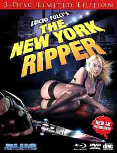 The New York Ripper Blu-ray
