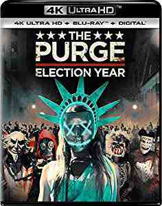The Purge: Election Year 4k Blu-ray