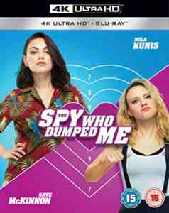 The Spy Who Dumped Me Blu-ray