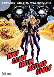 They Came from Beyond Space DVD