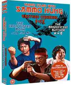 Three Films With Sammo Hung Blu-ray