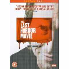 The Last Horror Movie DVD cover