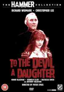 To Devil Daughter DVD