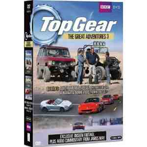 Top Gear Great Adventures DVD