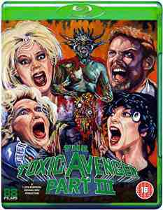 Toxic Avenger Part III Blu ray