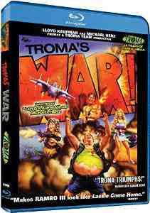 Tromas War Blu ray Carolyn Beauchamp