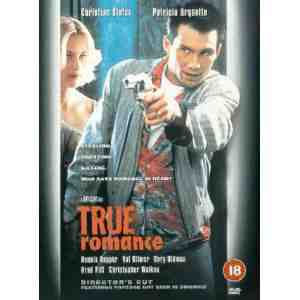True Romance DVD Christian Slater