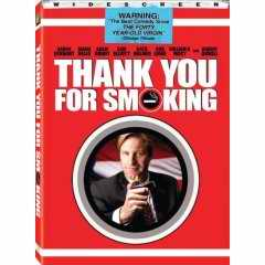 Thank You For Not Smoking DVD cover