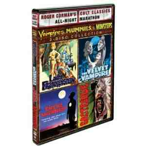 Vampires Mummies Monsters Collection Region