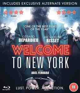 Welcome York Blu ray Gerard Depardieu