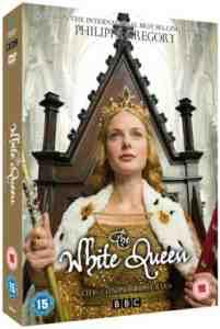 White Queen DVD Rebecca Ferguson