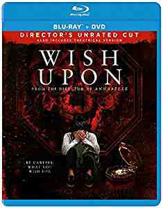 Wish Upon DVDBlu-rayCombo
