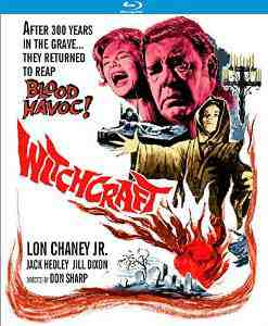 Witchcraft Blu ray Lon Chaney Jr