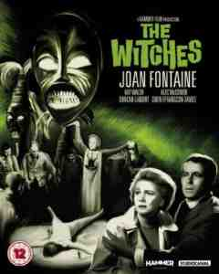 Witches Blu ray DVD Joan Fontaine