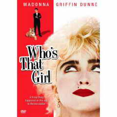 Who's that Girl DVD cover
