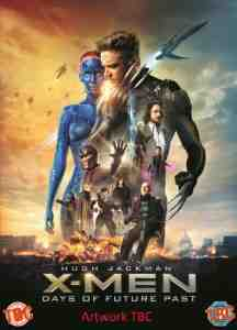 X Men Days Future Past DVD