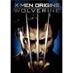 X Men Origins: Wolverine DVD