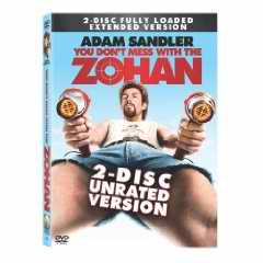 You Don't Mess with Zohan DVD