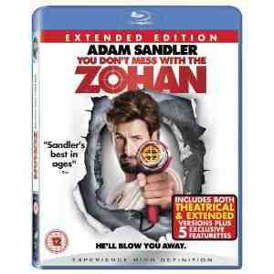 You Dont Mess Zohan Blu ray