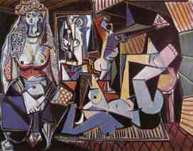 picasso woman of algiers