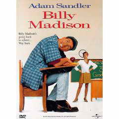 Billy Madison DVD cover
