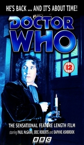 Dr Who: The Movie VHS