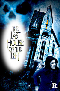 Last House on teh Left poster with an R rating